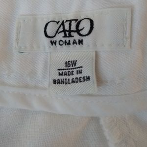 Cato Skirts - Cato Woman Skirt Plus Size 16W Zipper and Button